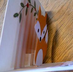 Comment faire une carte pop up anniversaire petit renard - Le blog de Pomm'rose