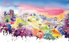 Jonathan Wheeler, watercolour artist based in Findhorn Scotland, specialising in Scottish castles and scenes including Edinburgh. Limited edition and signed edition prints for sale - commissions undertaken. Scottish Castles, Watercolor Print, Prints For Sale, Artist, Watercolours, Painting, Image, Larger, Twitter