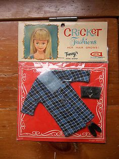 1960s American Character Tressy Cricket Doll Fashion 'Windy Weather'