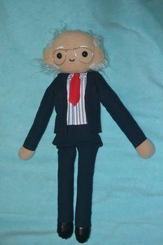 Custom Bernie Sanders Plush Doll Feel the Bern by amykins1111