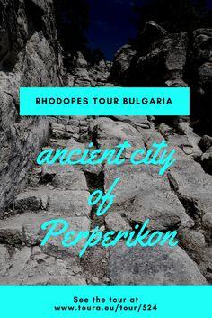 Ancient city of Perperikon Bulgaria. Check out our itinerrary here: http://www.toura.eu/tour/524/RhodopesMountains