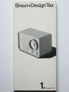 Braun catalogues | We all love Dieter Rams!