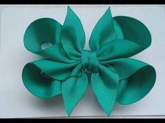 Boutique Spitze gegenüberliegende Seite - DIY Crafts: Hair Bows etc. Making Hair Bows, Diy Hair Bows, Diy Bow, Diy Ribbon, Ribbon Work, Ribbon Crafts, Ribbon Hair Bows, Diy Crafts, Hair Bow Tutorial