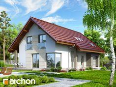 Projekt domu Dom w wisteriach 2 ver.2 - ARCHON+