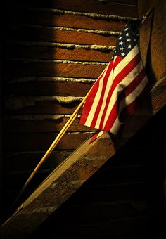 old lath and flag