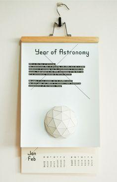 Year of Astronomy Calendar