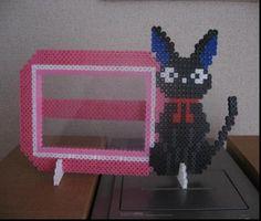 Jiji cat - Kiki's Delivery Service photo frame perler beads