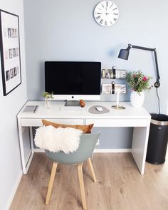 Room Design Bedroom, Home Room Design, Home Office Design, Home Office Decor, Home Decor Bedroom, Study Room Decor, Diy Kitchen Decor, Cute Home Decor, Office Table