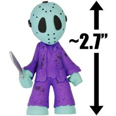 """Jason Voorhees NES Variant (Friday the 13th): ~2.7"""" Horror Classics x Funko Mystery Minis Vinyl Mini-Figure Series [VERY RARE] * Check out this great product. (This is an affiliate link) #ActionToyFigures"""