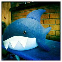 diy cute shark pattern