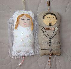 Bride and Groom Wedding Dotee Doll