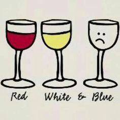 A little Fourth of July humor...what kind of wine will you have while your meat cooks on the EGG? #WineHumor