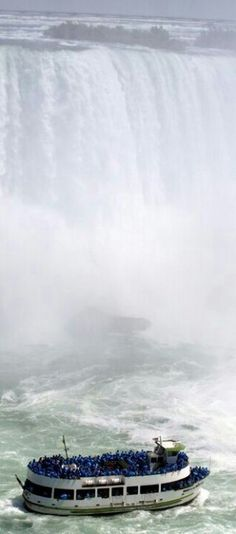 Maid of the Mist Boat Tour, Niagara Falls, Ontario, Canada