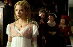Anya Joy, Anya Taylor Joy, Emma Movie, Gorgeous Film, Emma Woodhouse, Pride And Prejudice And Zombies, Best Costume Design, Costumes Couture, Regency Dress