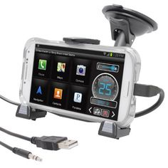 iBOLT xProDock Active Car Dock/Holder/Mount for Samsung Galaxy S 3, S4  Note 2 with aux-out to car-speakers. Works with ALL cases.  Price : $39.95 http://www.iboltshop.com/xProDock-Active-Samsung-aux-out-car-speakers/dp/B00AOCSFYC