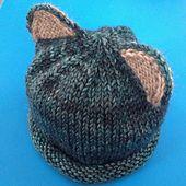 Ravelry: Cabbettenz's bear cub hat