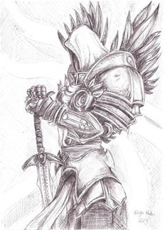 tyrael drawing - Google Search