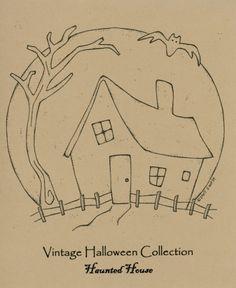 Ol' Halloween Stitch Quilt Pattern Set