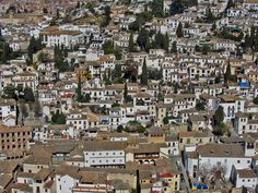 Barrio del Albaicin.Granada.España