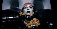 Lady Gaga Goes Goth for Fame Fragrance