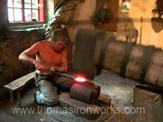 #steampunk Several Hundred Year Old Drop Hammer in Operation, May 2011