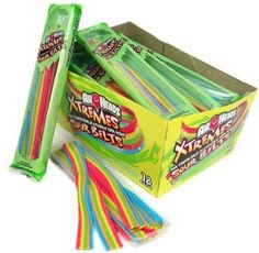 Airheads Xtremes, Airhead Extreme Candy With Rainbow Berry Flavor. Buy Airheads Xtremes In Bulk. Browse For Airheads Xtremes Sour Belts Candy Online.