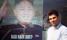 Britse kapper haalt woede van Noord-Koreanen op de hals