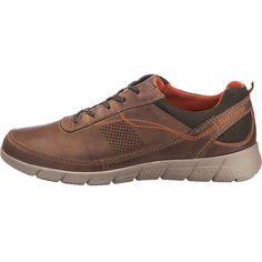 Die Josef Seibel Cliff 09 Freizeit Schuhe bestehen aus echtem Leder. Die gepolsterte, herausnehmbare Decksohle sorgt für einen hohen Tragekomfort.<br /> <br /> - Verschluss: Schnürverschluss<br /> - praktische Anziehlasche<br /> - verstärkter Fersenbereich<br /> - flexible Profil-Laufsohle<br /> - Schuh-Weite: G<br /> <br /> Obermaterial: Leder (Glattleder)<br /> Futter: Textil<br /> ...