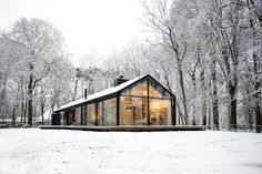 Bedaux de Brouwer Architecten: iskandinav tarz tarz Evler