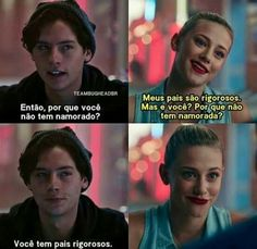 Que cantada. Series Canceladas, Series Movies, Bughead Riverdale, Riverdale Memes, Zack Y Cody, Gossip Girl Quotes, Betty And Jughead, Cole Sprouse, Pretty Little Liars