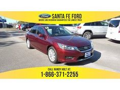 2015 Maroon Honda Accord EX 36657P