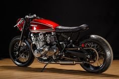 Kawasaki  KZ 1000  (Cafe Racer) 1977 - Custom by Krakenhead