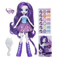 My Little Pony Equestria Girls Rarity with Accesories