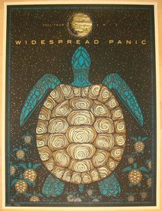 2013 Widespread Panic - Fall Tour Concert Poster by Todd Slater