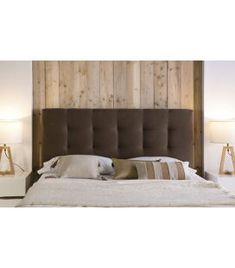 Comprar online Cabezal Tapizado con plafones cuadrados Modelo ASTURIAS Bed, Room, Furniture, Home Decor, Model, Upholstered Beds, Medium Brown, Flush Mount Lighting, Contemporary Style