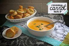 creamy carrot soup by shutterbean, via Flickr
