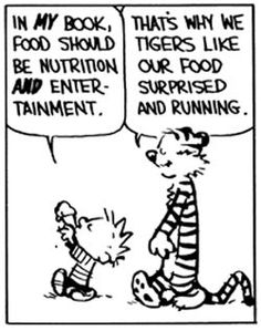 Hobbes Deep - tigers like their food surprised and running