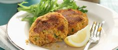 Salmon and Vegetable Cakes recipe from Food in a Minute