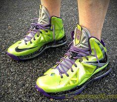huge discount 35641 3a265 Nike LeBron X Devastator by Mache Custom Kicks one of the sickest customs  LBJ X s yet! even LBJ himself approved