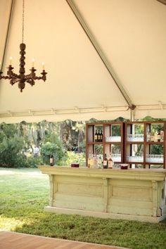 awesome bar idea for a wedding! by etta