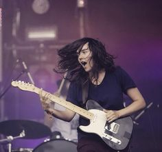 Courtney Barnett - telecasters rule. A loud and equally proud talented young…