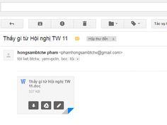 Giả mạo email thông báo kết luận của Thủ tướng để phát tán mã độc   Mr.Quay's Blog