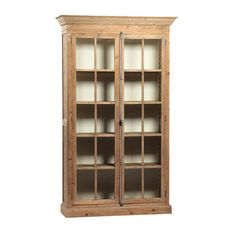 Wood & Glass Cabinet