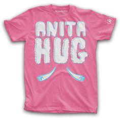 Anita Hug Crew Neck Men's Pink, $14, now featured on Fab.