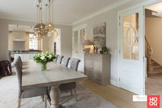 Tipler Luxury Homes Dining Room Decor, House Interior, Home, Farmhouse Dining Room, House Essentials, Home Deco, Farmhouse Dining Rooms Decor, Home Decor, Dining Room Inspiration