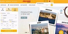 Pegasus web sitesini yeniledi. Pegasus Hava Yolları müşterilerine daha sağlıklı hizmet sunabilmek ad... Pegasus