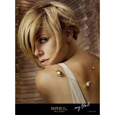 Breil Milano Ad Campaign Fall/Winter 2008 Shot #4 ❤ liked on Polyvore featuring ad campaign, charlize theron, models and people