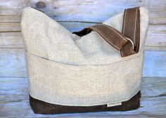Diaper Bag, a best seller!  Linen & Waxed Canvas 5 colors, by Darby Mack and made in the USA