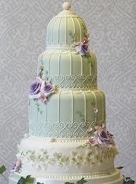 Birdcage wedding cake by Planet Cake UK Gorgeous Cakes, Pretty Cakes, Cute Cakes, Amazing Cakes, Take The Cake, Love Cake, Bird Cage Cake, Planet Cake, Beaux Desserts