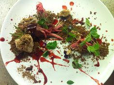 Wolvesmouth Private Dining - Los Angeles. (Fantastic Plating!) via wolvesmouth | blog